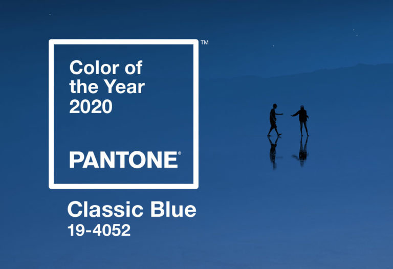 COLOR TREND FOR 2020: CLASSIC BLUE